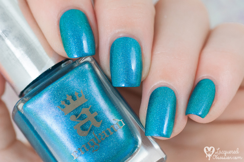 A-England Whispering Waves Swatch by Lacquered Obsession