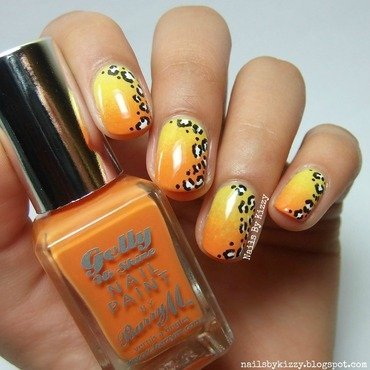 Gradient 20leopard 20print 20nails thumb370f
