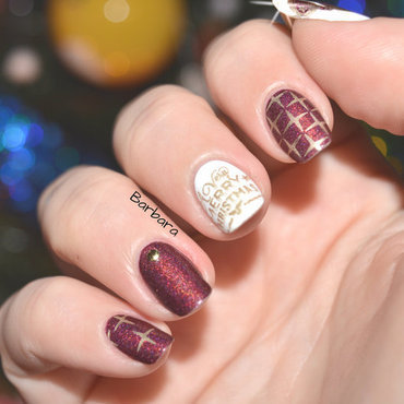 Merry Christmas! nail art by Les ongles de B.