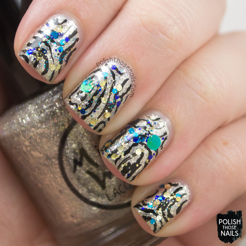 New Year Sparkles nail art by Marisa Cavanaugh - Nailpolis: Museum ...