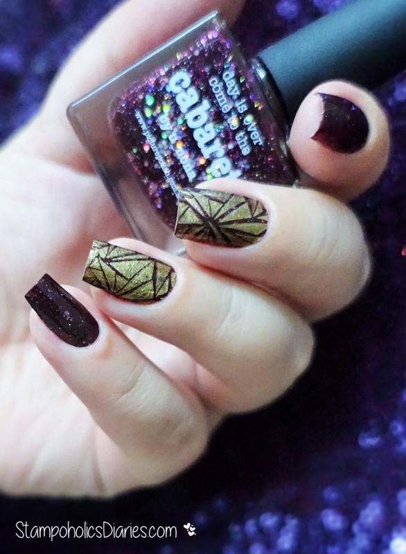 Happy 2016! nail art by Natasha