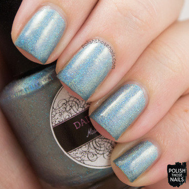 Daily hues nail lacquer jessica blue holo swatch 3 thumb370f
