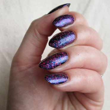 Orly Explosion of Fun nail art by Yenotek