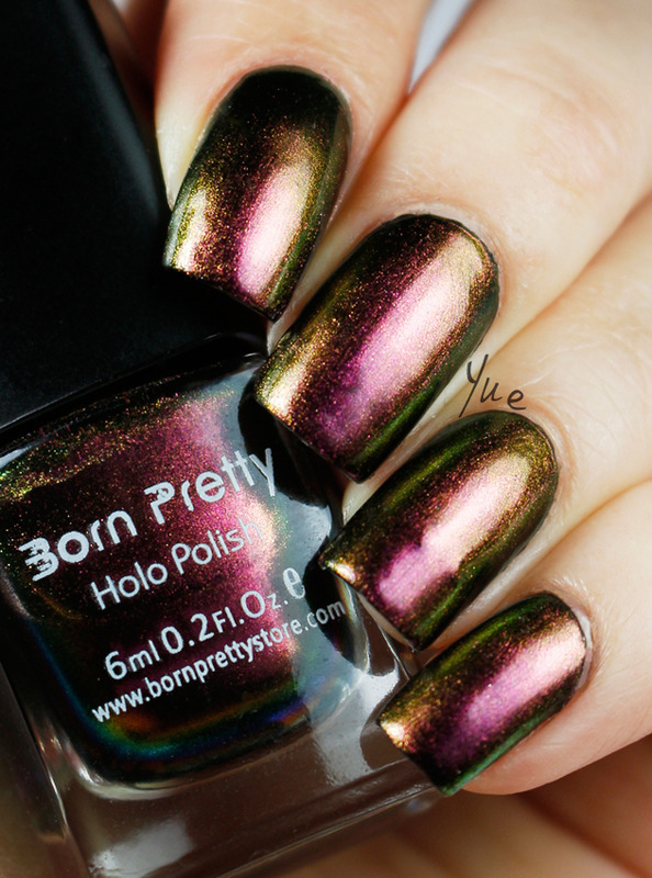 Born Pretty Chameleon 205 Swatch by Yue