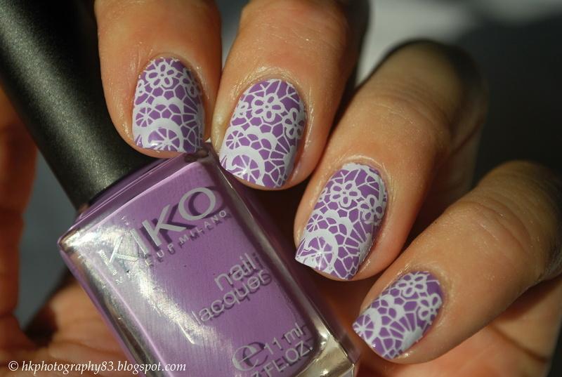 Lace Nails nail art by Hana K.