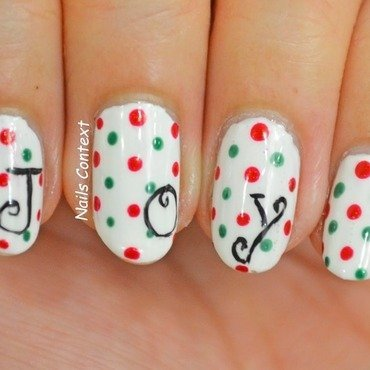 JOY  nail art by NailsContext