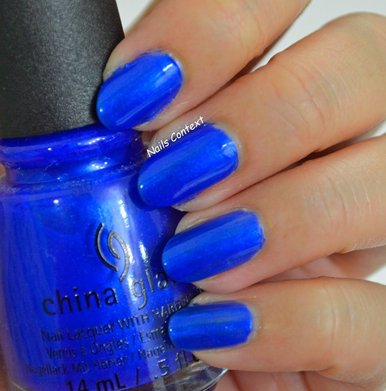 China Glaze Frostbite Swatch by NailsContext