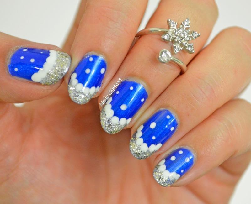 Winter Stroll nail art by NailsContext
