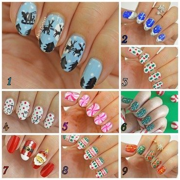 Monthly Mani Favorites - Dec 2015  nail art by NailsContext