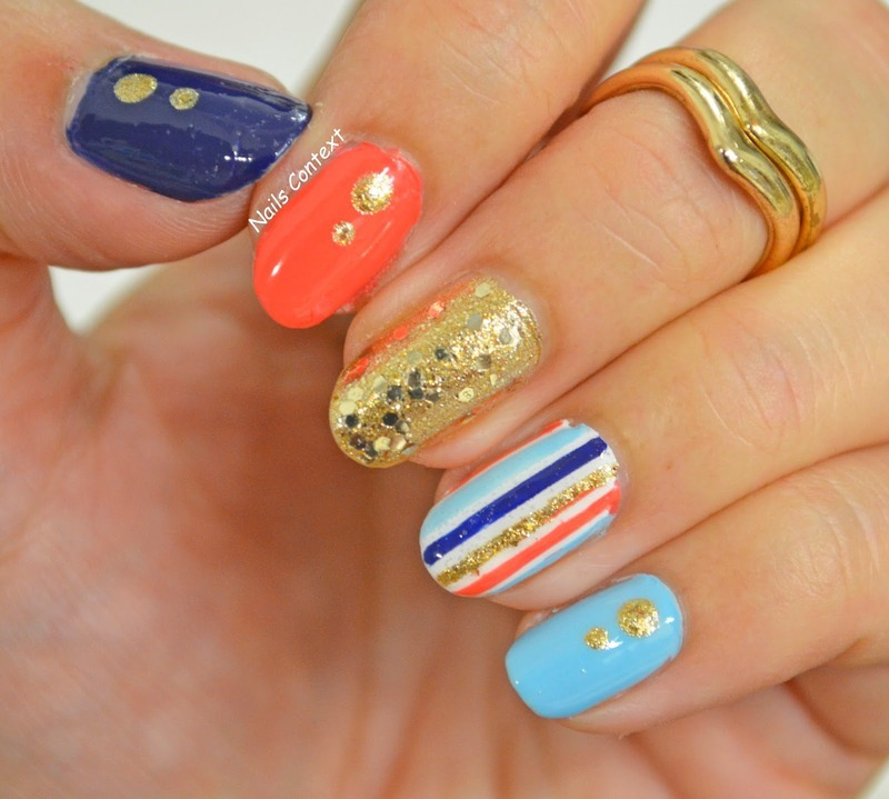 Glitter, Glimmer, Sparkle nail art by NailsContext