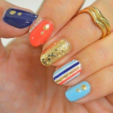 Glitter, Glimmer, Sparkle nail art by NailsContext
