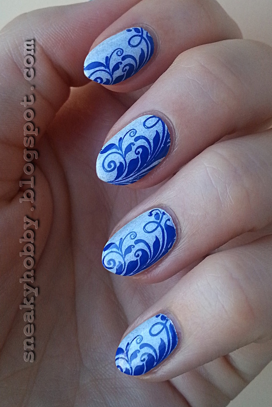 Another Cold Manicure nail art by Mgielka M