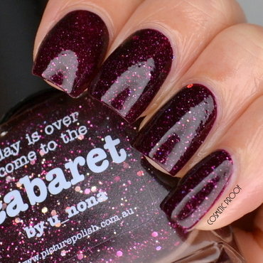 piCture pOlish cabaret Swatch by Jayne