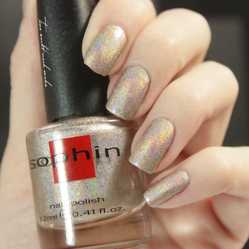 Sophin Cosmetics Prisma 205 Swatch by Tine