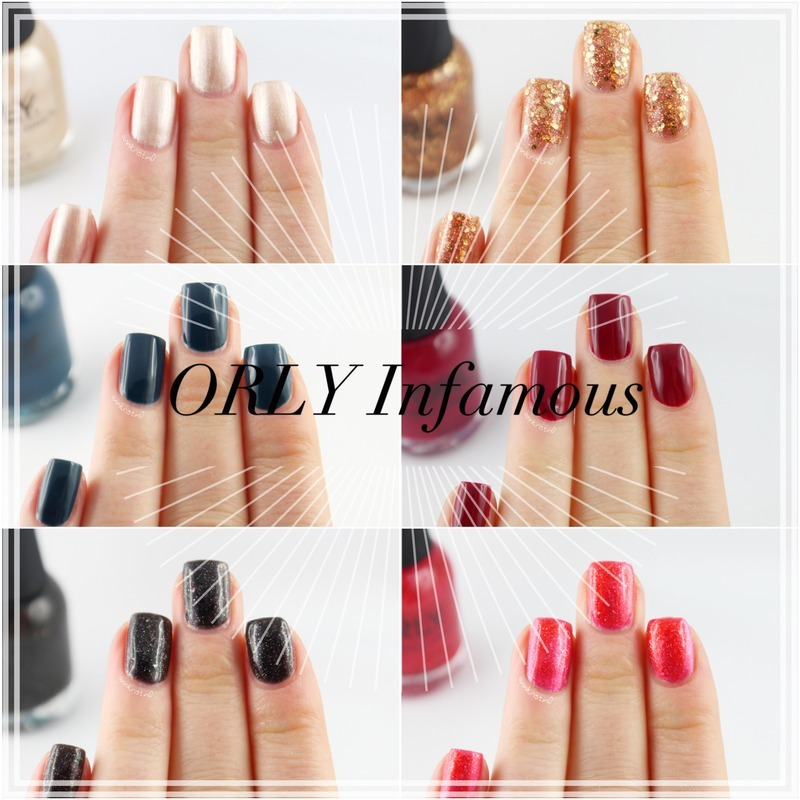 ORLY Infamous Collection nail art by Ann-Kristin