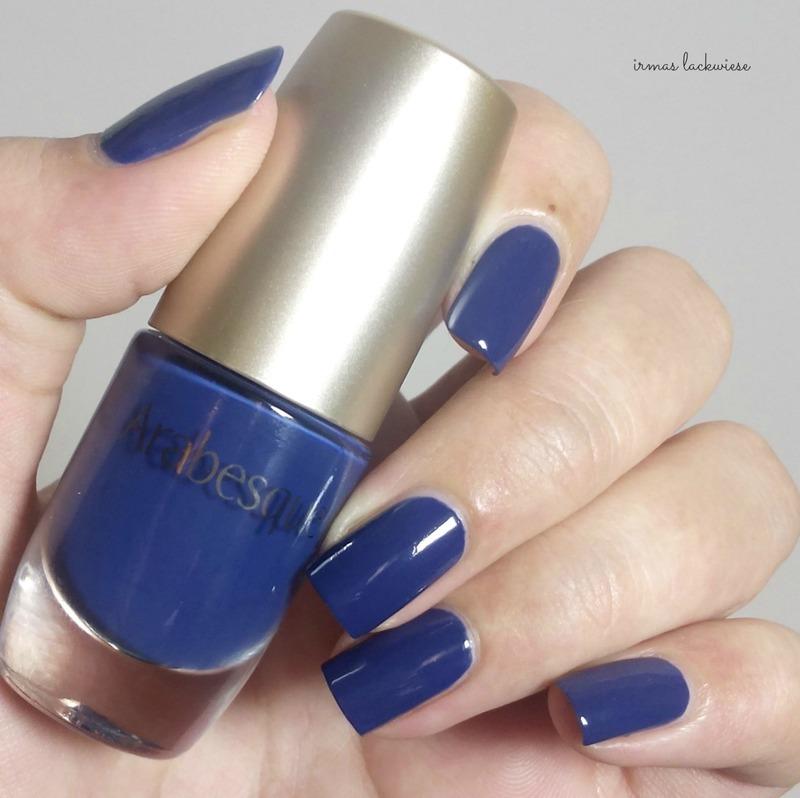 arabesque kobalt blau Swatch by irma