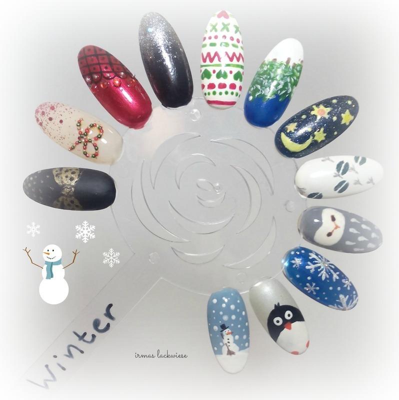 nailart ideas winter nail art by irma