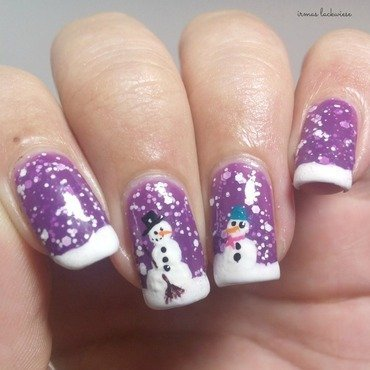 2. 20nailart 20snowman 20mit 20p2 20winter 20who 20cares 20  20never 20mind 20 6  thumb370f