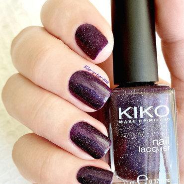 Kiko 255 Swatch by klo-s-to-me