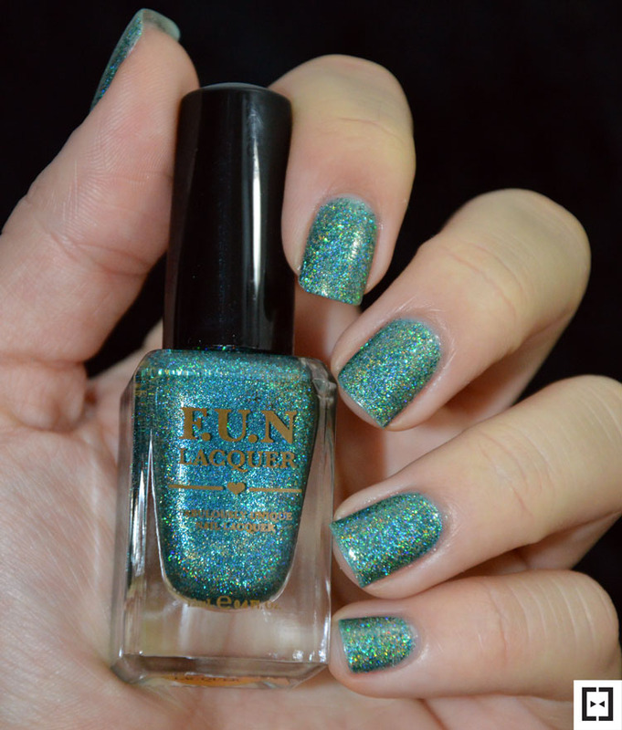 Fun Lacquer Secret (H) Swatch by Sweapee