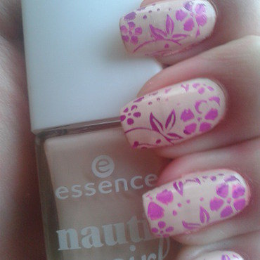 Waiting for spring weather nail art by Jájis