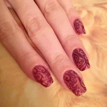 Moyra Vintage nail art by Rox