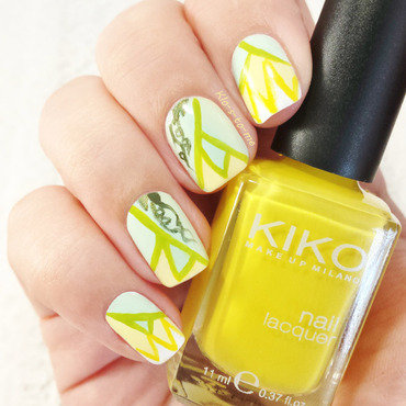 The princess and the forg nail art by klo-s-to-me
