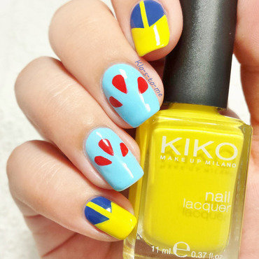 Snow White and the seven Dwarfs nail art by klo-s-to-me