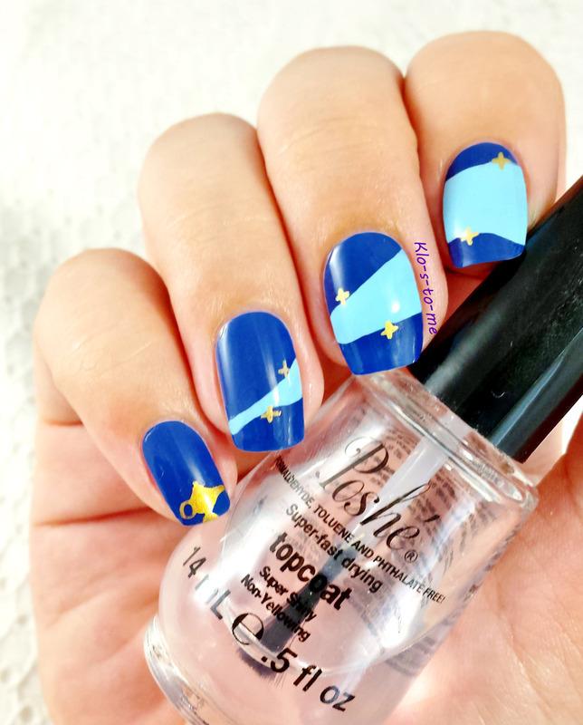 Aladdin : génie nail art by klo-s-to-me