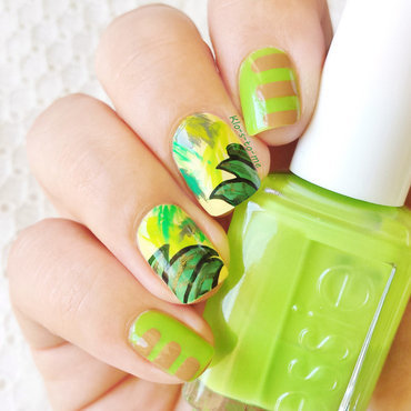 The Jungle book nail art by klo-s-to-me