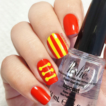 Dumbo : Circus nail art by klo-s-to-me