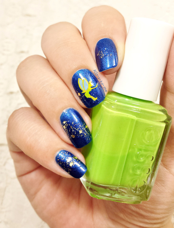Peter Pan Tinkerbell Nail Art By Klo S To Me Nailpolis Museum