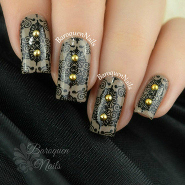 Ritz nail art by BaroquenNails
