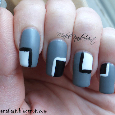 Black 20white 20grey 20nail 20art 20design 20geometric 20color 20blocking thumb370f