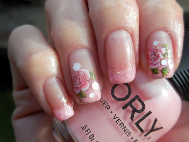 Pink Palette Cleanser nail art by Donner