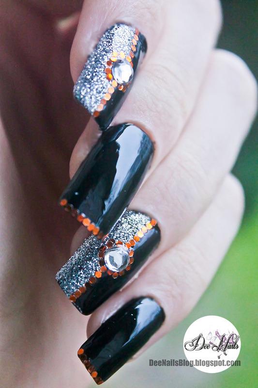 Glossy elegant nail art nail art by Diana Livesay