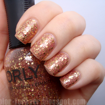 Orly Gossip Girl Swatch by ania