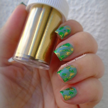 Catrice & Nail Foil nail art by Dora Cristina Fernandes