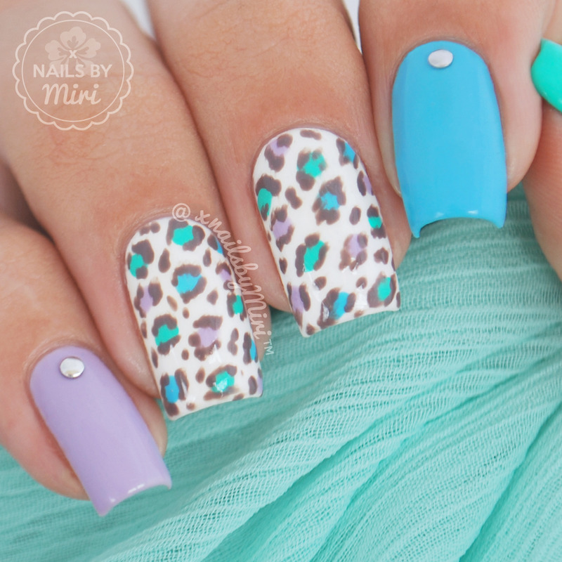 Leopard Print nail art by xNailsByMiri