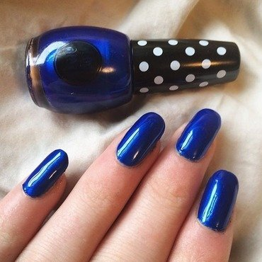 OPI Top Coat Swatch by Charlotte