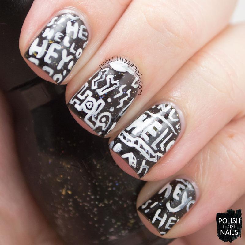 Hey! nail art by Marisa  Cavanaugh