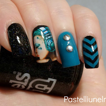 My Kind of Music. nail art by Lumi