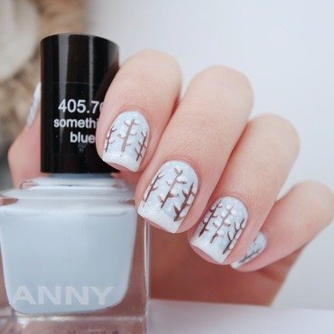Wonderland nail art by Alina E.