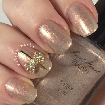 Sweet Heart Polish All That Glitters Swatch by Crystal Bond