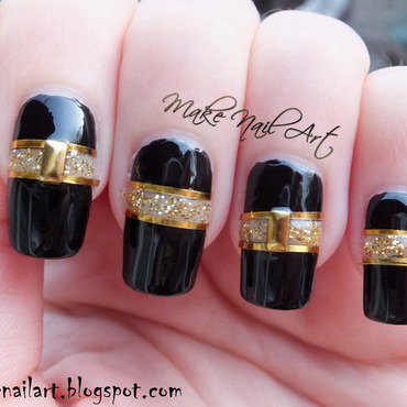 Cut 20out 20black 20and 20gold 20nails 20nail 20art 20design 20tutorial thumb370f
