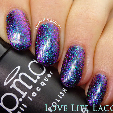 Bundle Monster Blue Venom Swatch by Love Life Lacquer