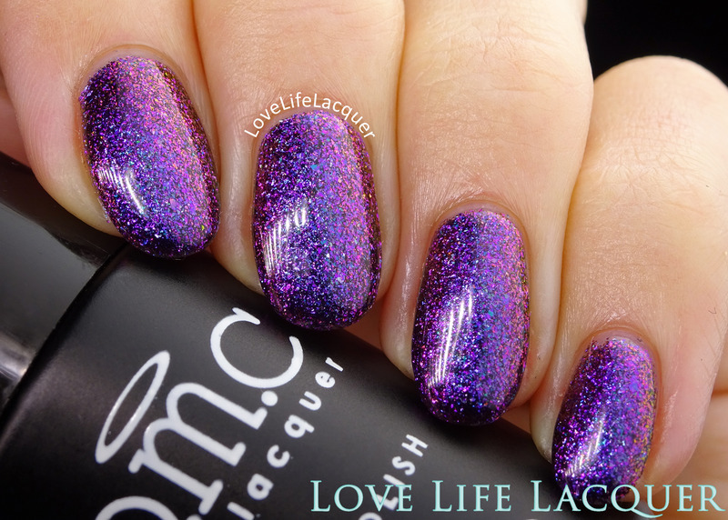 Bundle Monster Gel Polish Slitherine Swatch by Love Life Lacquer