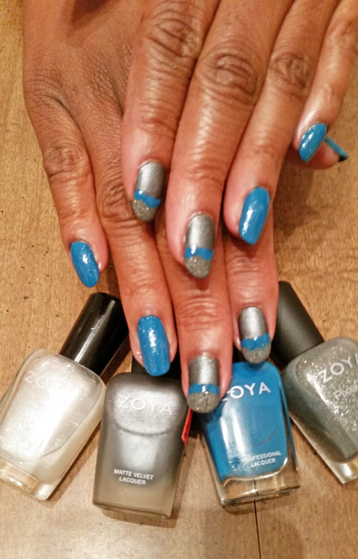 Blue and Grey by Jackie Bodick