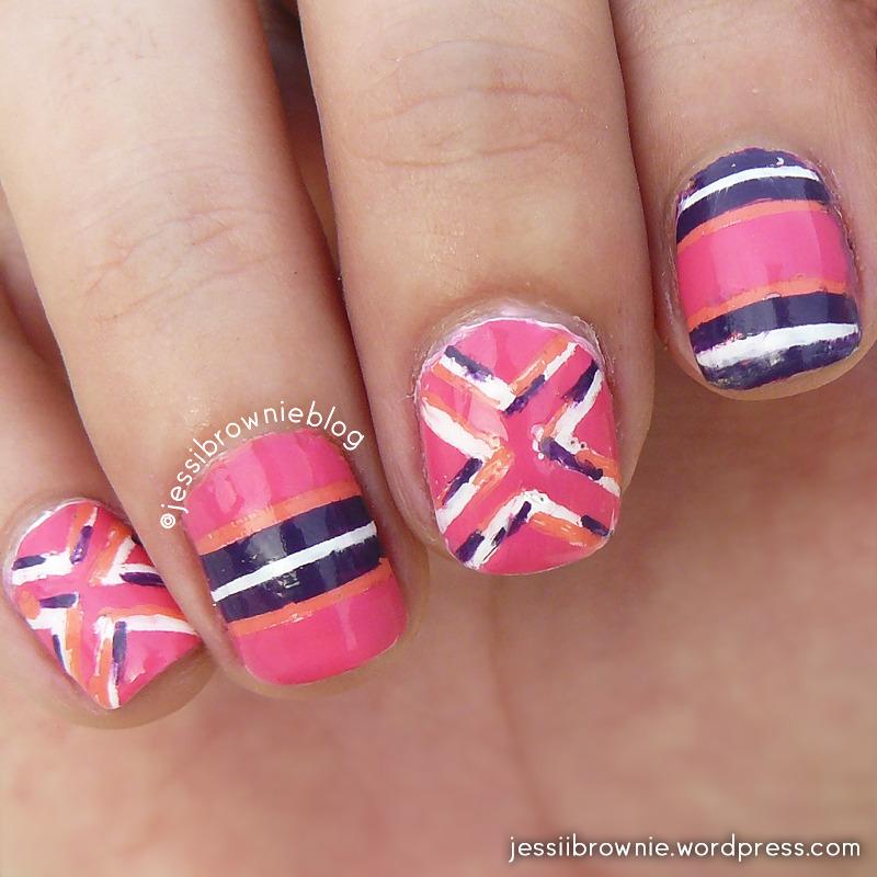 Fashion Inspired Nails nail art by Jessi Brownie (Jessi)