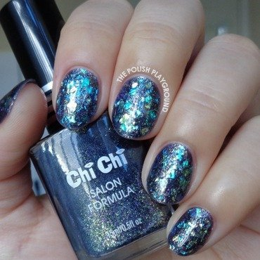 Shattered Glass Inspired Nail Art nail art by Lisa N